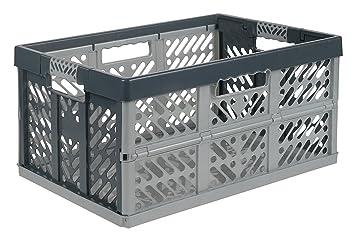 Perfect Pack Von 3 X 45 Liter Extra Stark Folding Kunststoff Stapelbar Aufbewahrung  Kisten Boxen U2013 45