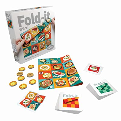 Think Fun Fold-It Brainteaser Challenge Game - Innovative Folding Game Using Soft Cloth: Toys & Games