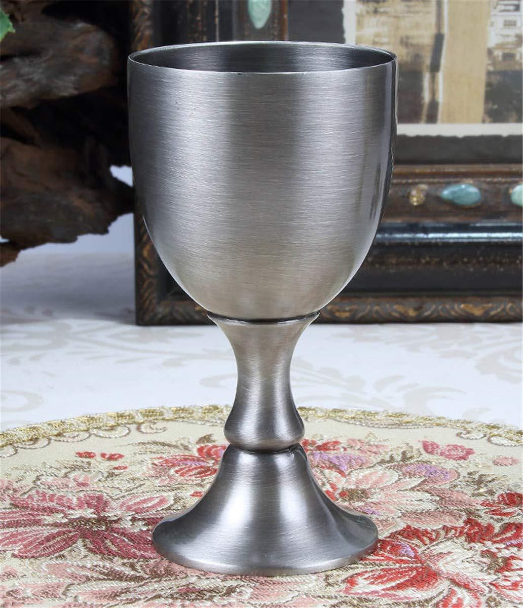 HHXWU Coupe de Verre /à vin Armoire /à vin d/écoration europ/éenne r/étro gobelet Verre de vin Rouge Verre /à vin Cadeau de vin Bronze