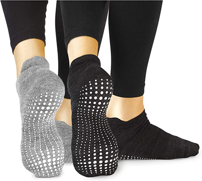 Amazon.com: LA Active Grip - Calcetines antideslizantes para ...