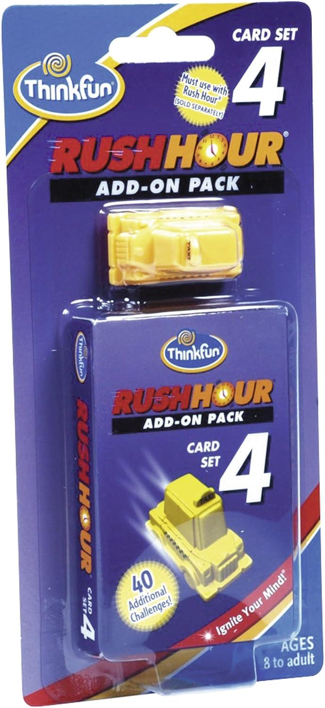 ThinkFun 76335 Rush Hour® 4 - Juego de ampliación de Juguete: Rush Hour® Erweiterungsset ThinkFun: Amazon.es: Juguetes y juegos