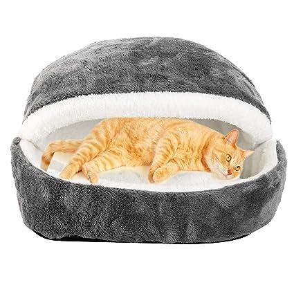 ZhongYeYuanDianZiKeJi Casa para Mascotas,Saco de Dormir para Gatitos Cachorros, un cálido Refugio,