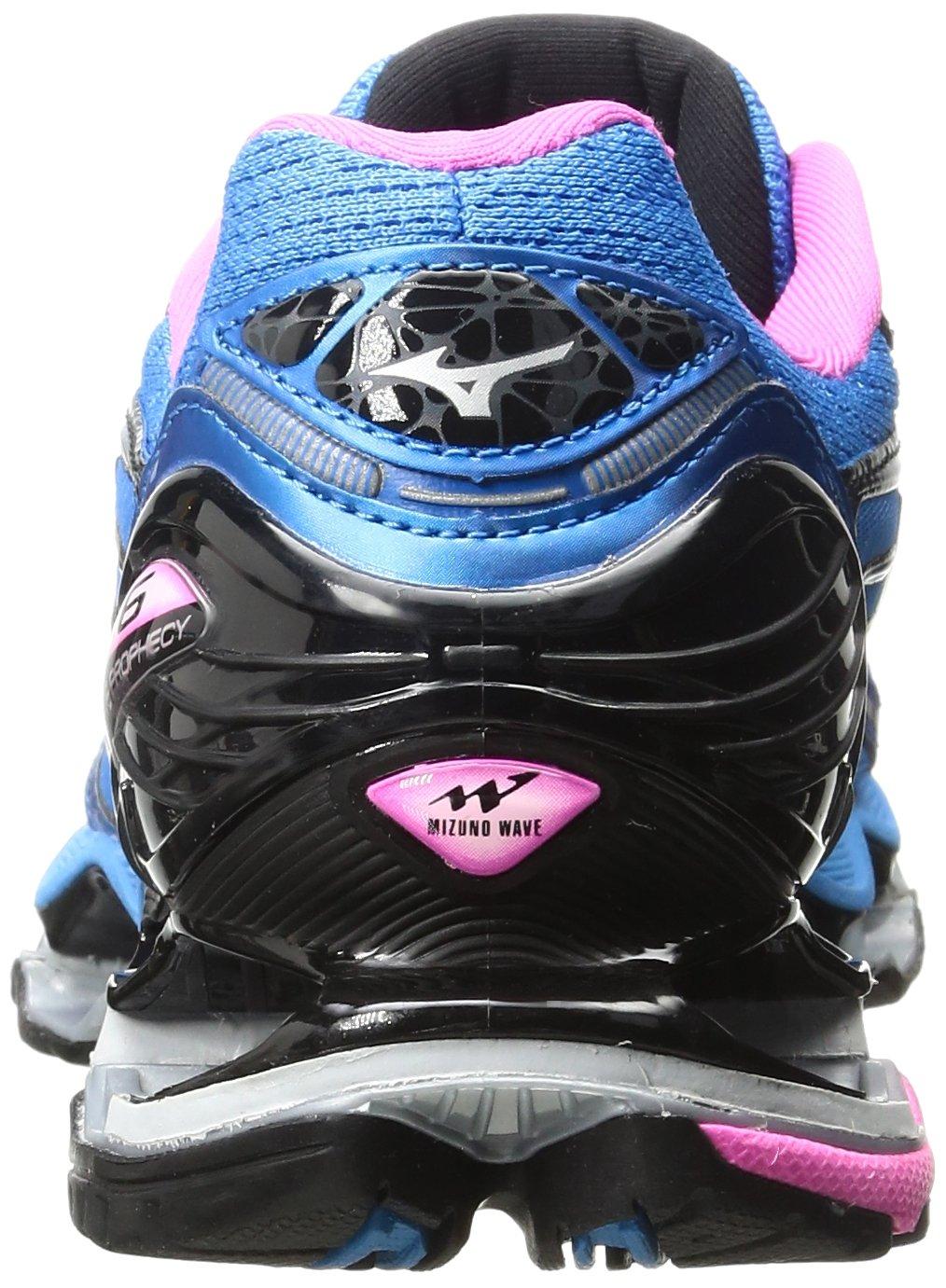 Mizuno Women's Wave Prophecy 6 Running Shoe B01H4X9M36 10 B(M) US|Diva Blue-silver