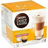 Nescafé Dolce Gusto Skinny Latte Machiato, 16 Capsules - Pack of 3 (48 Capsules)