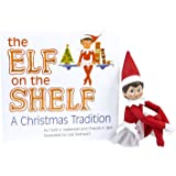 The Elf on the Shelf: A Christmas Tradition Blue Eyed North Pole Elf Girl with Winter Sparkle Tutu Skirt