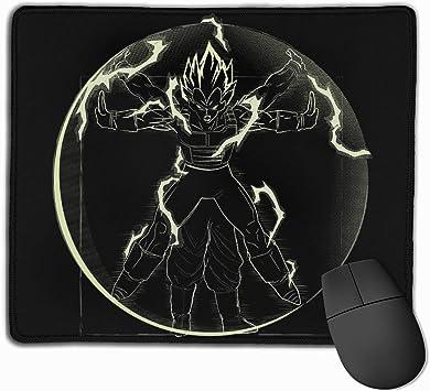 Mouse Pad Gaming Vitruvian Saiyan Vegeta Dragon Ball Computer ...