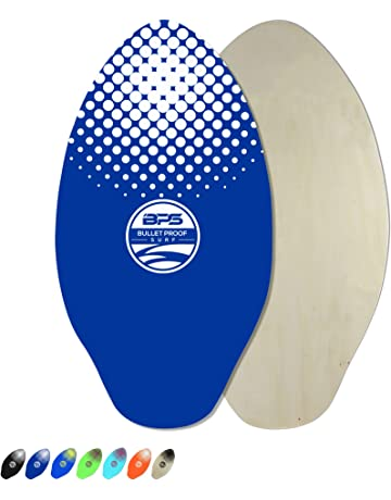 9200579d143 BPS Skimboard with Epoxy Coating/High Gloss Clear Coat | Colored Wooden  Skim Board for