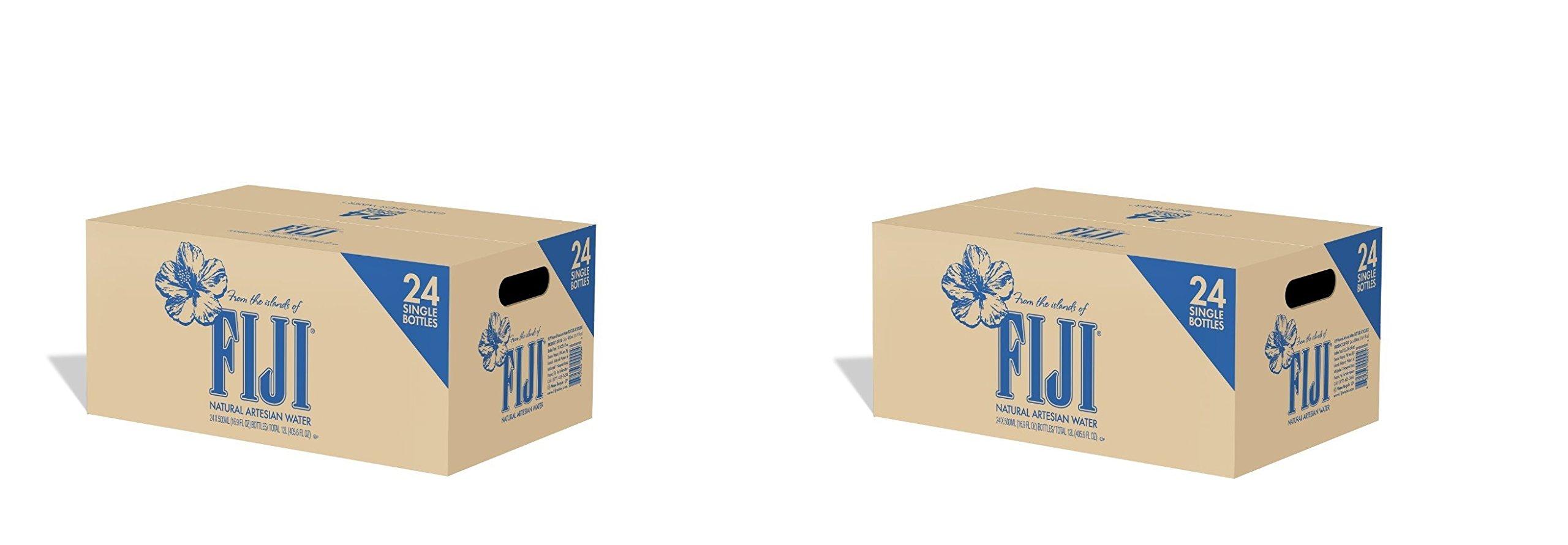 FIJI Natural Artesian Water, 16.9 Fl Oz (Pack of 24 Bottles (.2 Caes)