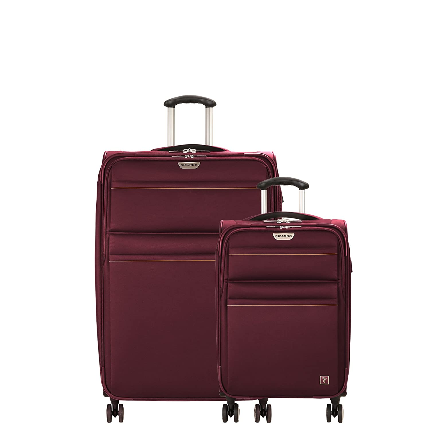 21-Inch C//O and 29-Inch Spinner 2-Piece Set Wine Ricardo Beverly Hills Mar Vista 2.0