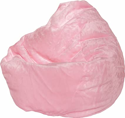 Marvelous Amazon Com Furry Bean Bag Chair In Pink Toys Games Pdpeps Interior Chair Design Pdpepsorg