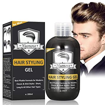 Hair Gel Hair Styling Men Hair Cream For Thick Dense Heavy