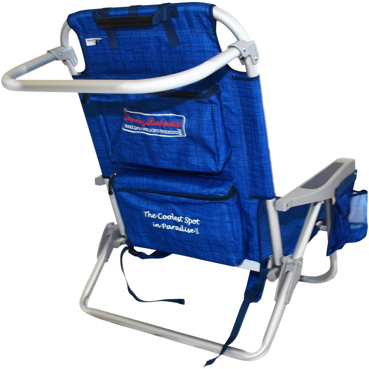Backpack cooler chair - Amazon Com Tommy Bahama Backpack Cooler Chair Blue Patio Lawn Garden
