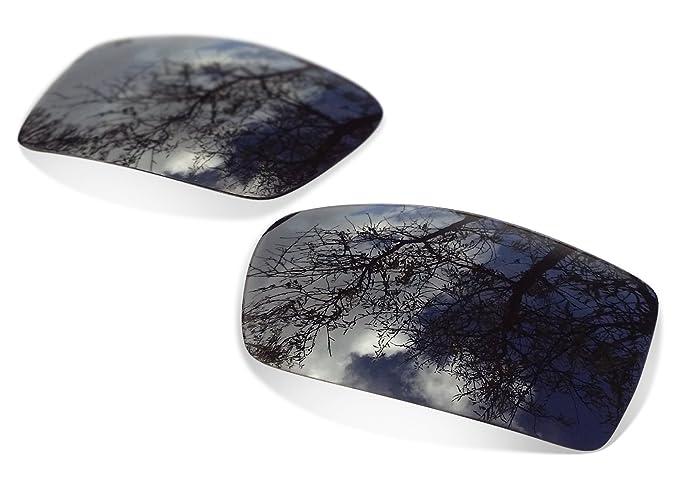 2 Parejas de Lentes Polarizadas para Oakley Gascan (Black + Ice)