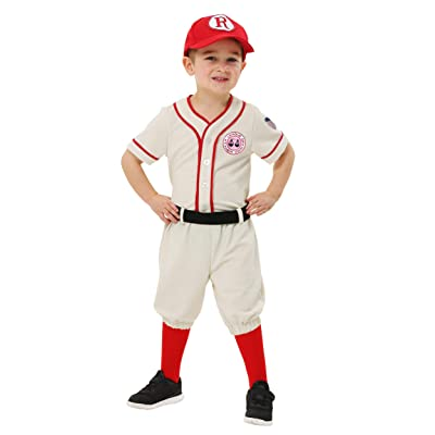 A League of Their Own Toddler Jimmy Costume: Clothing