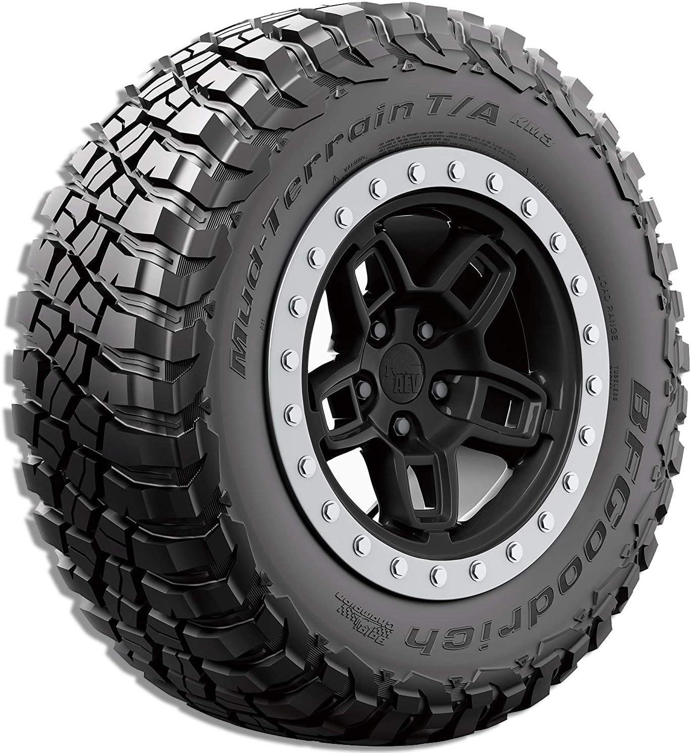 BFGoodrich Mud-Terrain T//A KM3 Radial Tire-LT255//85R16//E 123//120Q 123Q