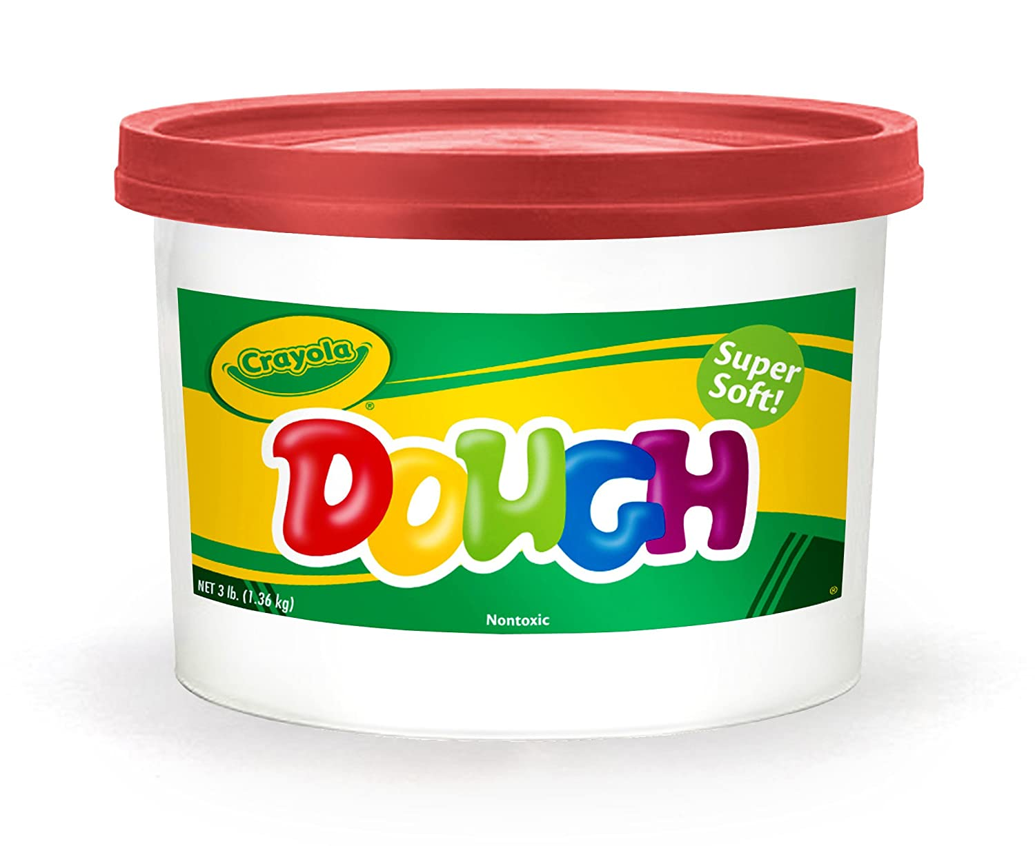 Crayola Dough 3-lb Bucket Red 57-0015-038