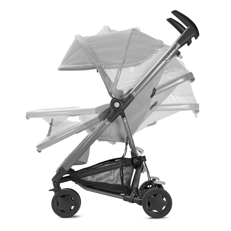 Quinny Zapp Xtra Buggy superleicht, mit komfortabler Ruheposition, inklusive Einkaufskorb, Sonnen- und Regenverdeck, Sonnenschirmclip, Adapter f/ür die Babyschale lila