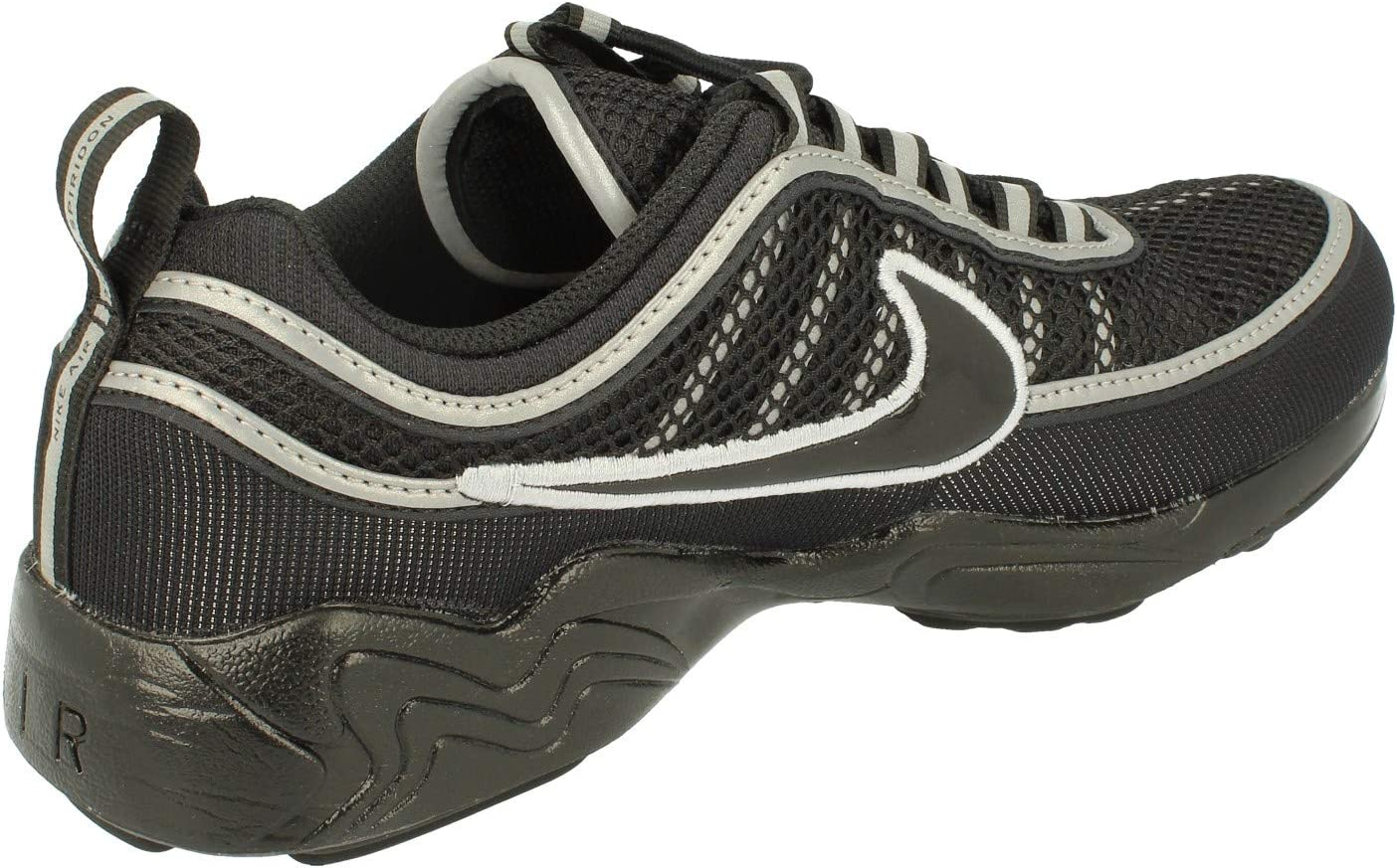 Nike Air Zoom Spiridon 16 Sneakers voor heren Black Black Wolf Grey 001
