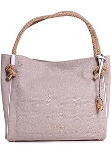 Michael Michael Kors Isla Large Textured Leather Grab Bag