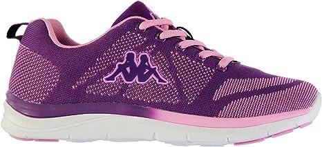 Kappa asilet Zapatillas de Running para Mujer, Color Morado/Rosa Zapatillas Zapatillas de Deporte para, Violet/Pink: Amazon.es: Deportes y aire libre