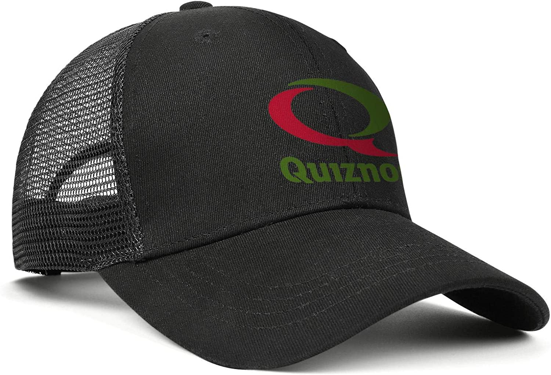WintyHC Quiznos-Logo Cowboy Hat Trucker Hat Adjustable Fits Gas Cap