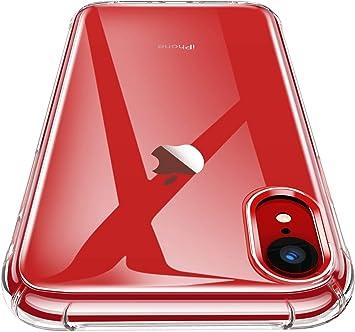 PER IPHONE XS MAX XR Ultra Sottile COVER CUSTODIA + PELLICOLA