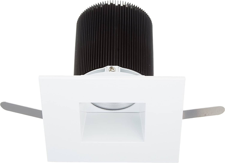 26-Degree Beam Angle 3500K LED 2-Inch Open Square Trim WAC Lighting HR-2LED-T709N-35WT Tesla
