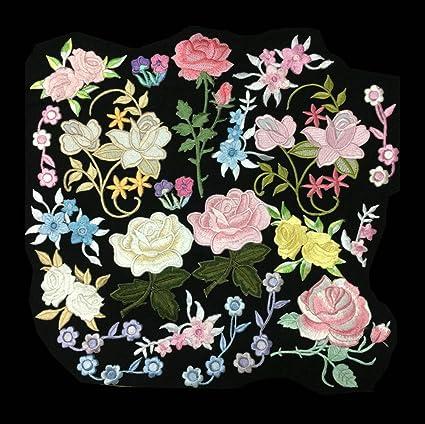 Amazon 20pcs Randomly Colorfull Embroidery Boutique Applique