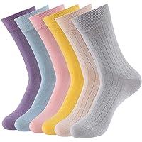 VBIGER Calcetines de Algodón para Mujer Calcetines Medias para Primavera Verano Otoño…