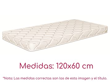 NATURALIA - Colchon cuna thermofress, talla 120x60cm, color blanco: Amazon.es: Hogar