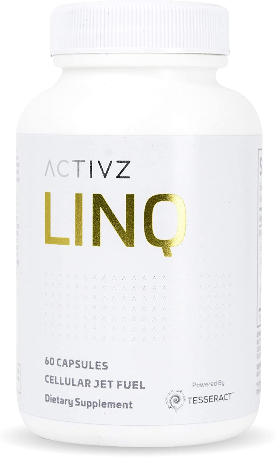 LINQ Cellular Jet Fuel – Leaky Gut Management – Gut Brain Connection – Highly Bioavailable Butyric Acid Supplement – Patented Delivery Technology 60 Capsules, 1 Month Supply