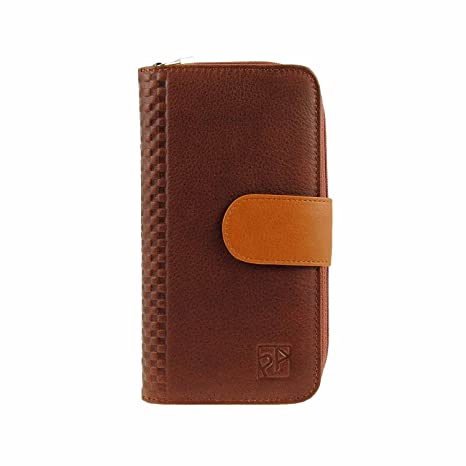 Monedero grande con billetero Talla: U Color: MARRON: Amazon ...