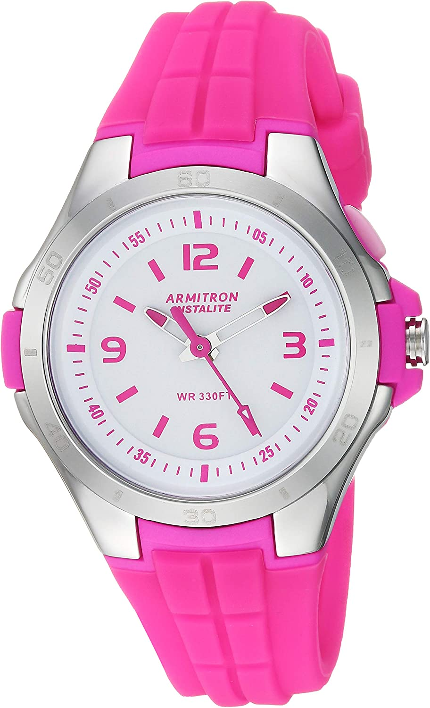 Armitron Sport Women s Silicone Strap Watch