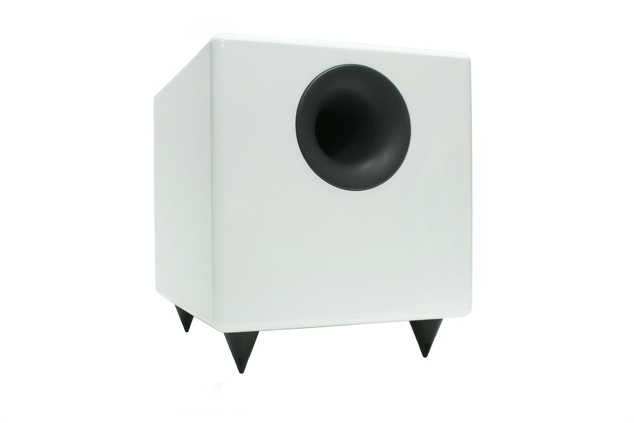 Audioengine S8 White 8-inch Powered Subwoofer by Audioengine