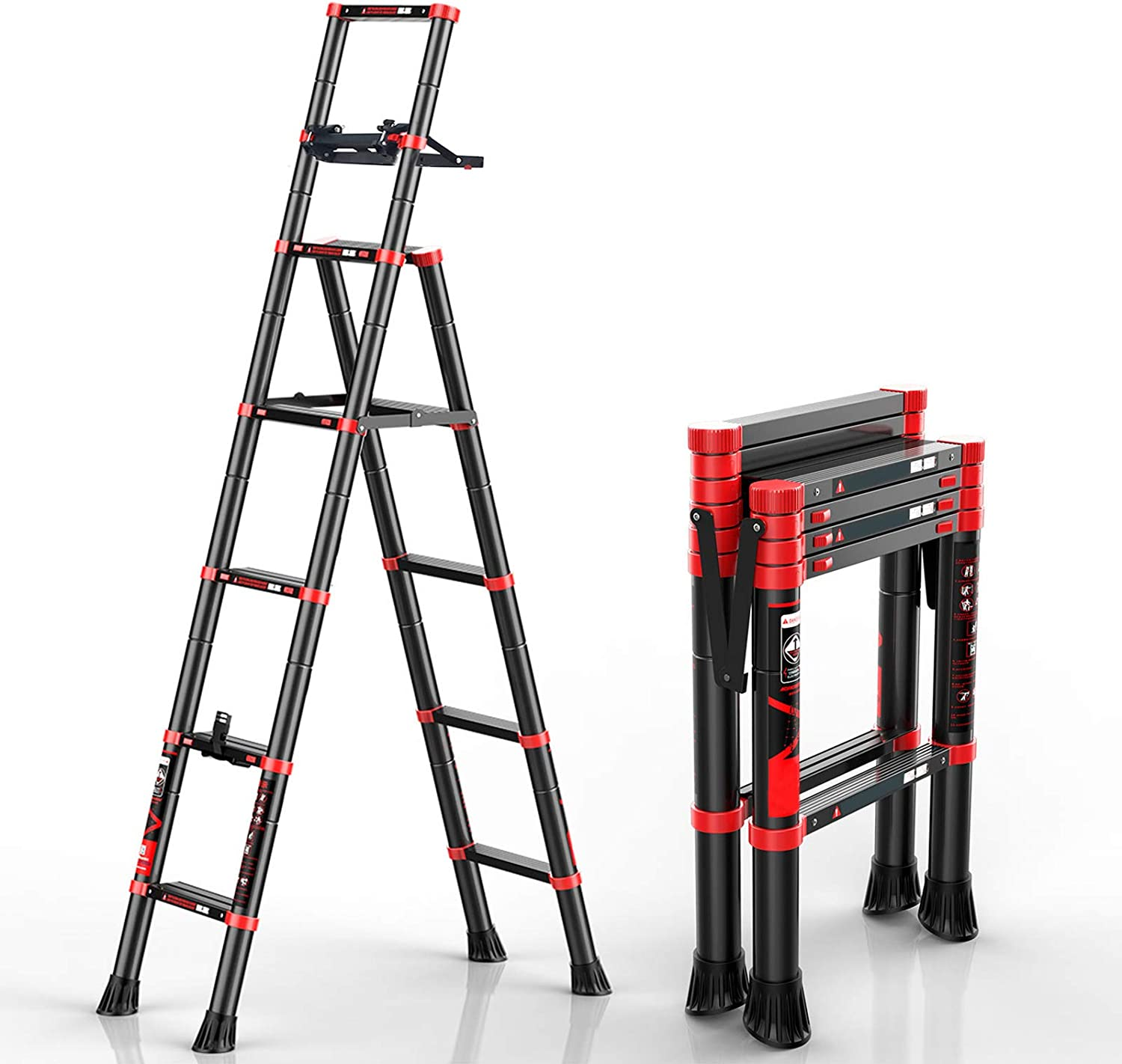 charaHOME Telescoping Ladder