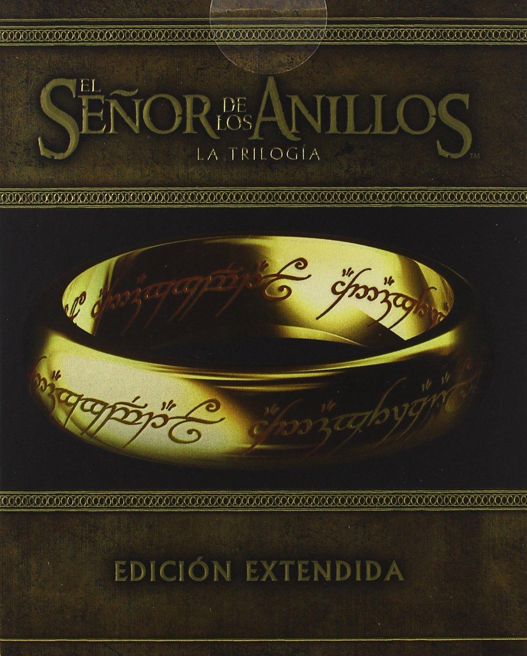 El Señor de los Anillos: Trilogía Edición Extendida Blu