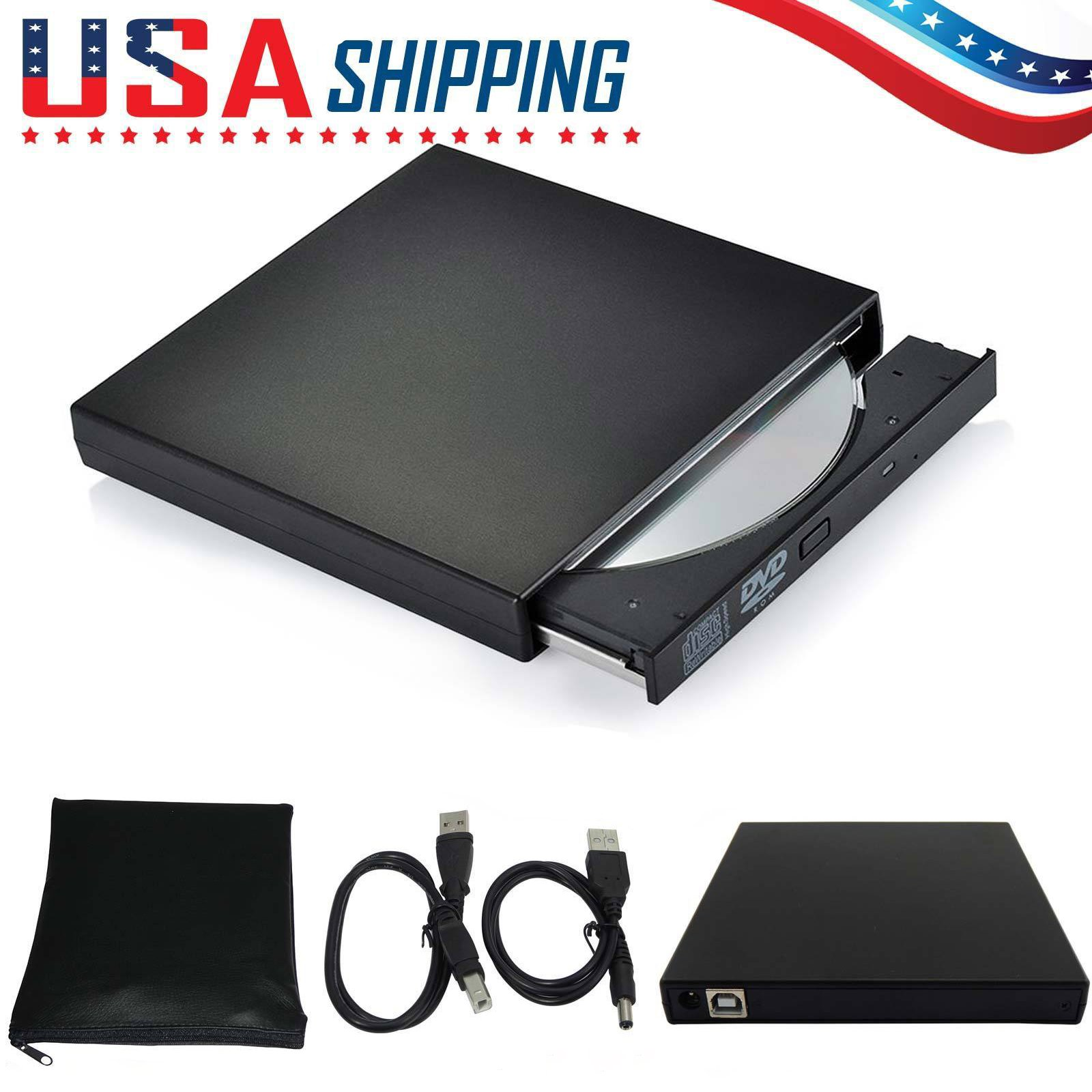 USB 2.0 DVD RW Drive ixaer External CD DVD Drive USB 2.0 Super Multi Ultra Slim Portable DVD Writer Drive Combo CD-RW CD±RW Burner Drive with M-DISC Support (Black)