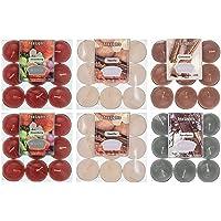 Velas de té aromáticas velas set 54pcs 4