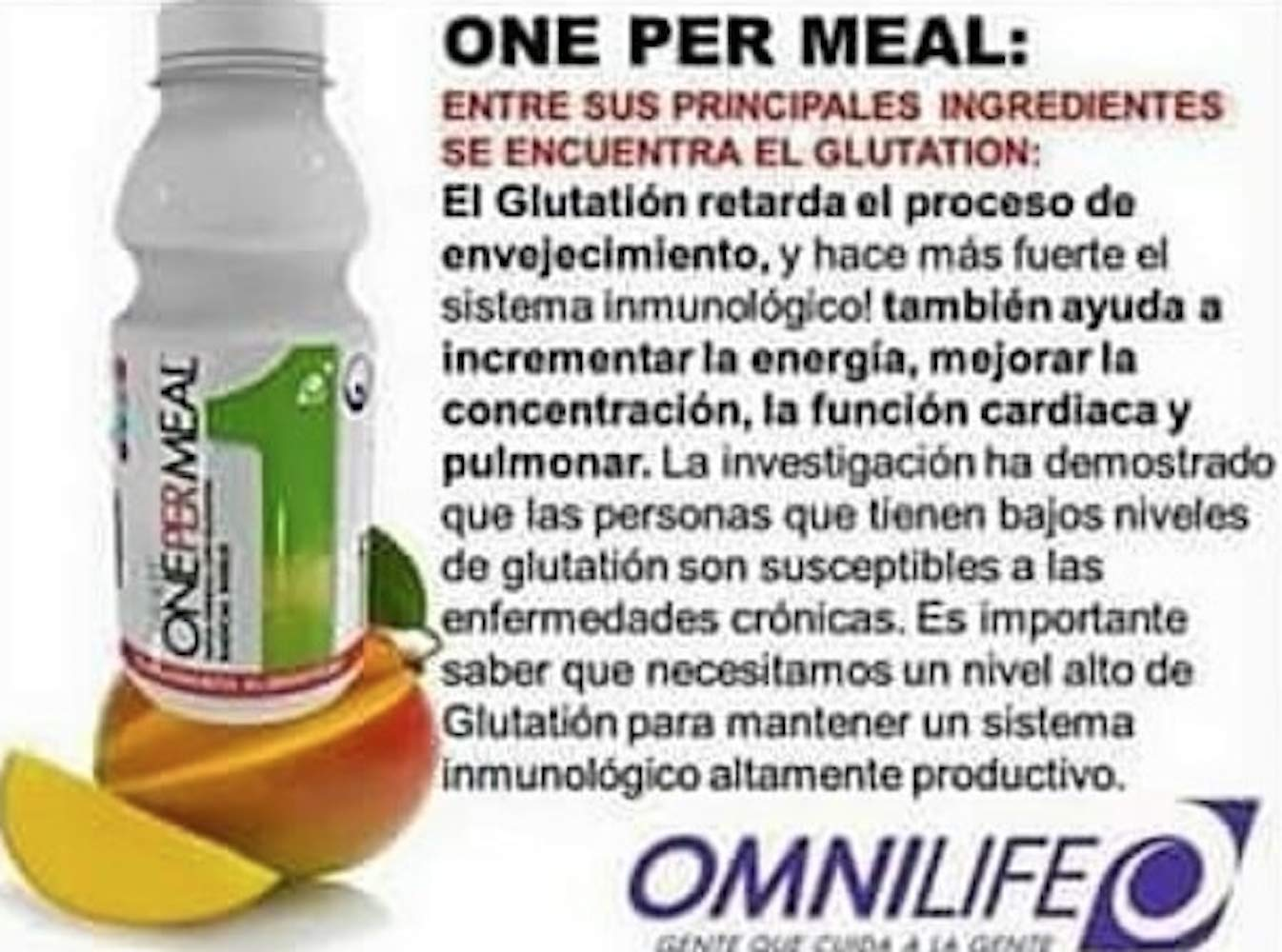 Omnilife One C Mix Plus=Dual C Mix + One per Meal, Box with 30 Sachets (150g) Shipped by Liss