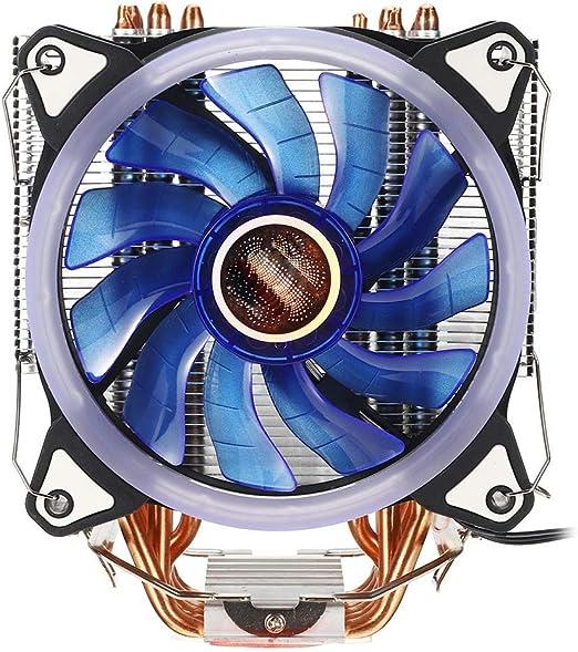 Ventilador de refrigeración de la CPU Ventilador de la CPU de 12 ...