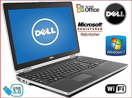 "Sleek Dell 15.6"" Notebook- Latitude E6530 -Intel i7-Quad Core CPU -"