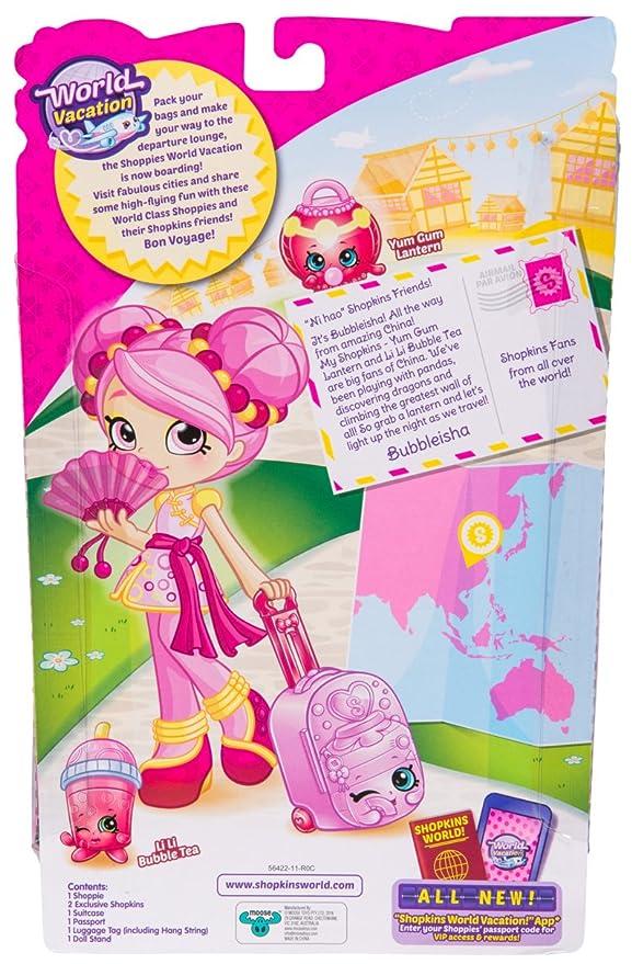 Amazon Shopkins Shoppies World Vacation Bubbleisha Visits China Toys Games