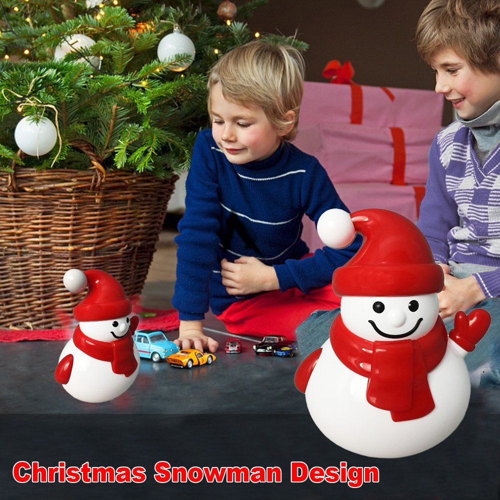 Creative Baby Toy, KZY Mini Bluetooth Speaker, Unique Gift for Children's Day, Snowman Portable Wireless Rechargeable Speaker