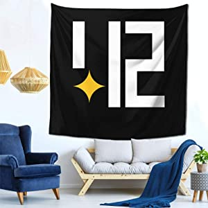 Pittsburgh Skyline 412 Tapestry 59*59 Inch Luxurious Art Tapestry For Home Living Room Bedroom Sofa Backdrop