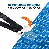 MUSCCCM Pool Solar Cover Reel Attachment Kit, 24