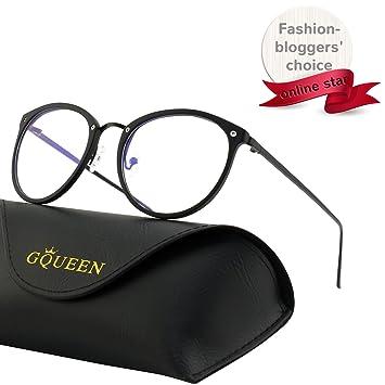 e8c4ba53e1 GQUEEN Fashion Blue Light Blocking Computer Glasses