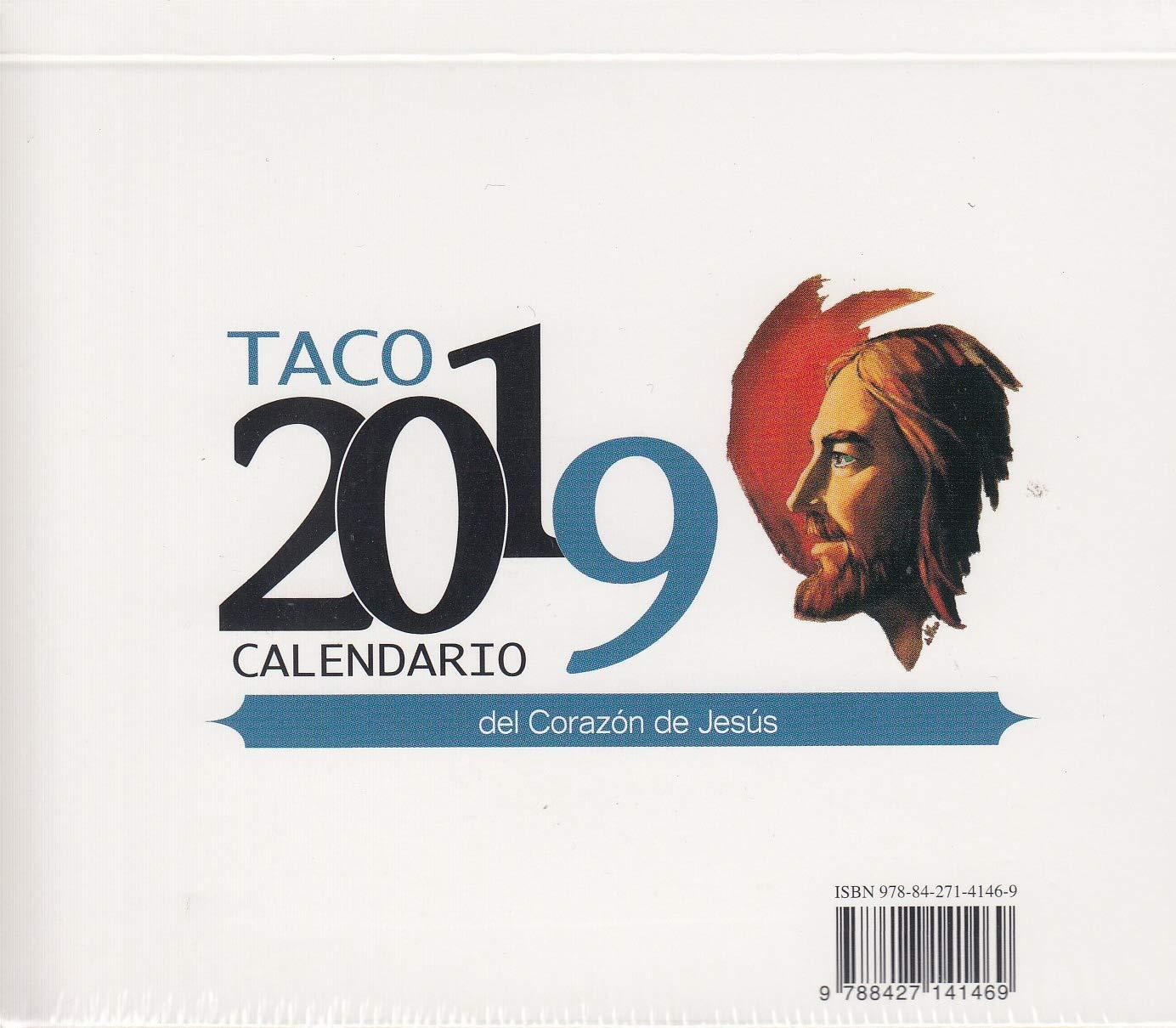 Taco Mesa con soporte 2019 Sagrado Corazón Tapa blanda – 11 sep 2018 Ediciones Mensajero 8427141467 GBCY EDUCATION / General