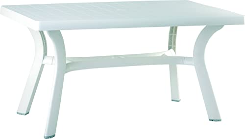 Compamia Sunrise 55″ Resin Patio Dining Table