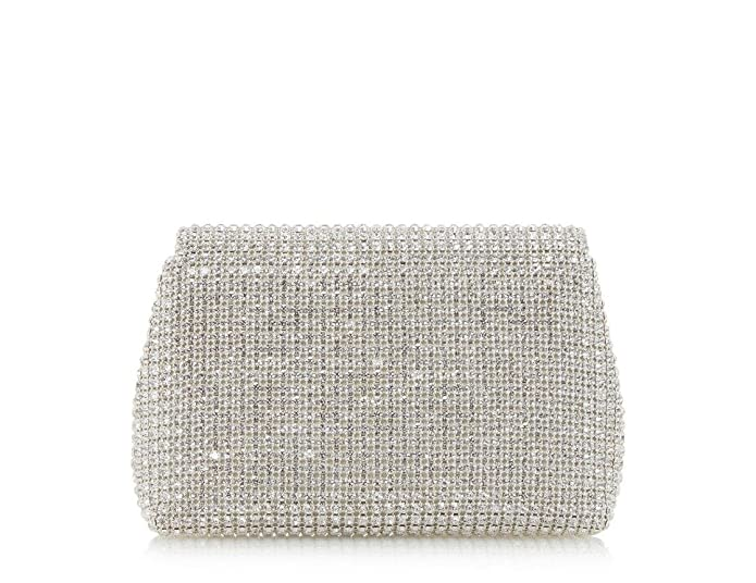2a16450a9fe2 Dune Everlina - Silver Diamante Embellished Clutch Bag  Amazon.co.uk  Shoes    Bags