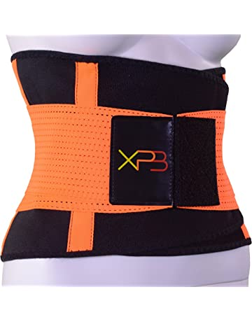 OMID Faja Reductora Cintur/ón de Sudor Trimmer de Cintura Faja Lumbar Doble Ajustable Quema de Grasa para Hombre y Mujer Sauna Cintur/ón de Fitness para acelerar la p/érdida de Peso